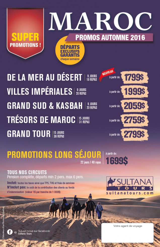 Super Promotions Morocco - Autumn 2016