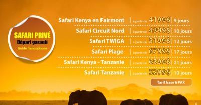 Kenya - Tanzanie - Safari privé