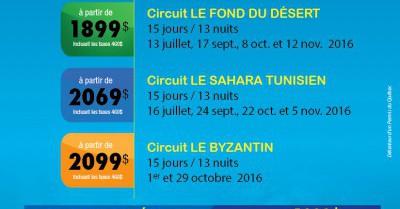 Tunisie - été - automne 2016