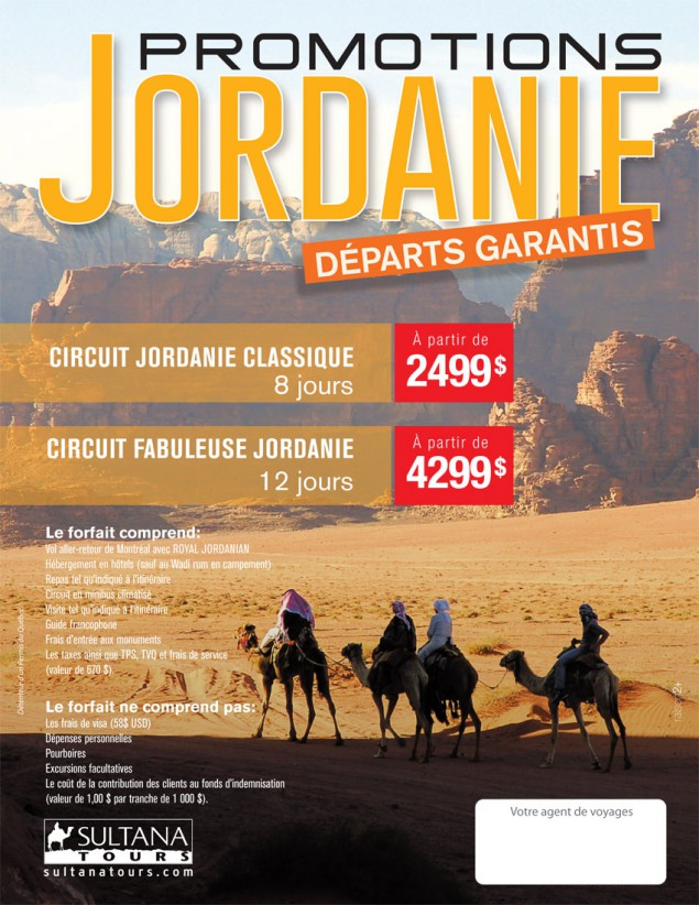 Jordanie - Circuit